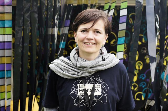 Louise Winness Prestgard synes det er fantastisk at årets Miniøya har åpnet for publikum.