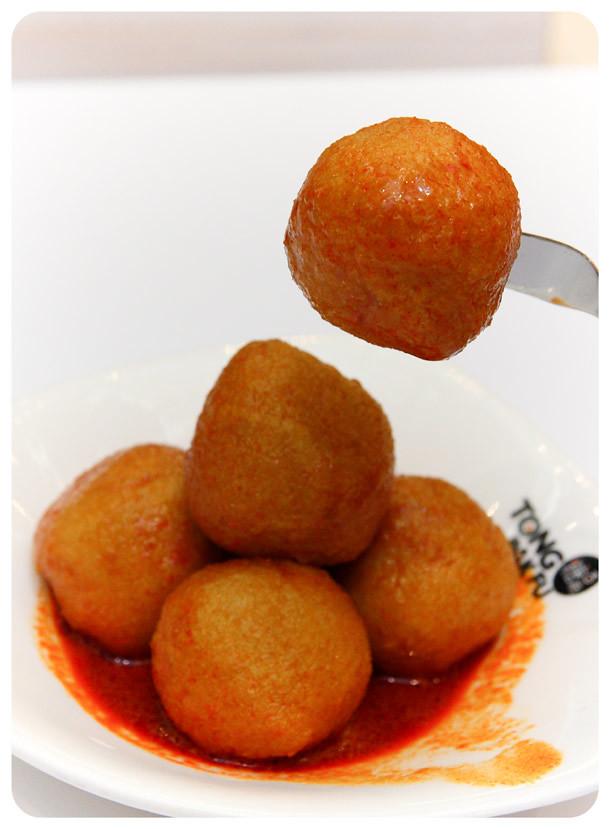 Tong Pak Fu - Curry Fish Balls