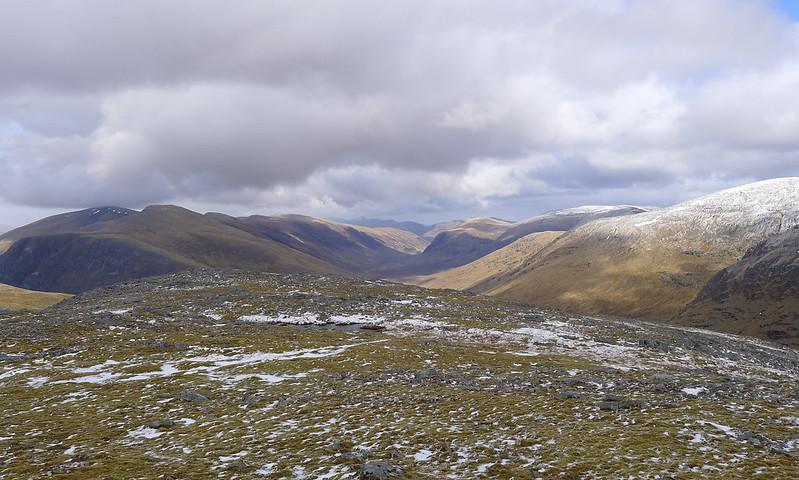 Looking down Glenuaig
