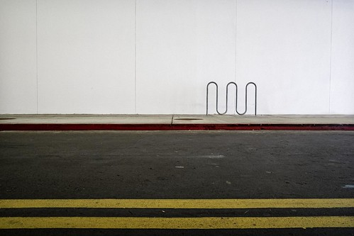 Bike Rack at a Mall_June 10, 2012