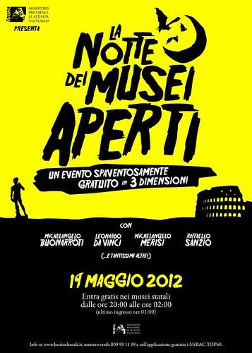 LA NOTTE DEI MUSEI 2012 [musei aperti tutta la notte. elenco ]  by cristiana.piraino