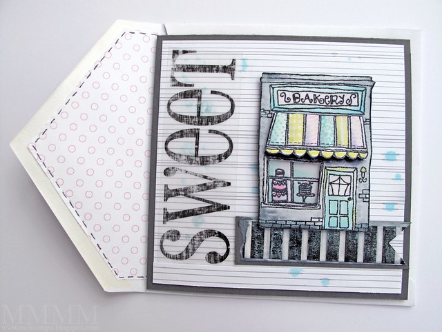 purple onion designs hometown Bakery card