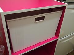 キッチン カラーボックス収納