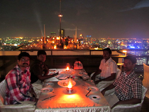Dinner in the Sky of Bangkok