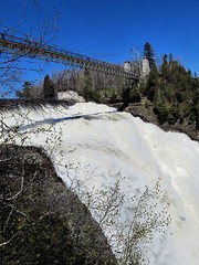 Montmorency falls and bridge