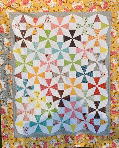 Flea Market Fancy Quilt Top