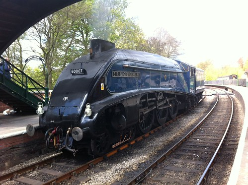 Sir Nigel Gresley at Pickering