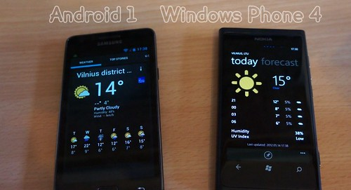 Android ar Windows Phone? Nokia ar Samsung?