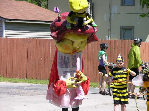 MayDay 2012, a bee in the bonnet