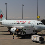 Air Canada Airbus A319 Vancouver International Airport