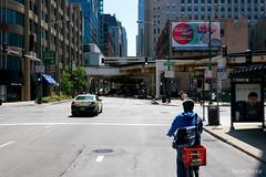 Wells Street at Hubbard Street