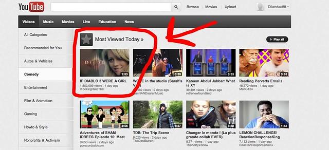 Diablo 3 Youtube TOP