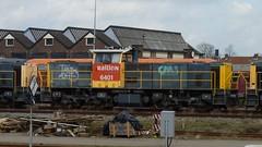 MaK DE 6400, 6401 terzijde station Amersfoort