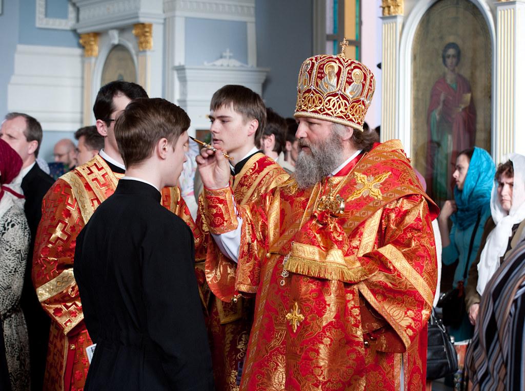 20 мая 2012, Всенощное бдение накануне дня памяти ап. и ев. Иоанна Богослова