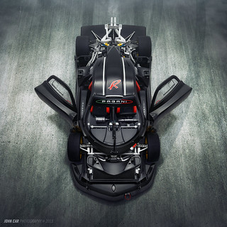 Zonda R uncovered + FX