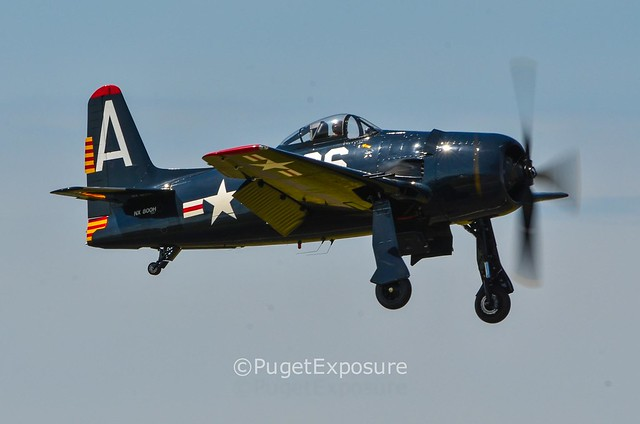 Down the Centerline Series: Gear Down for landing Grumman F8F Bearcat
