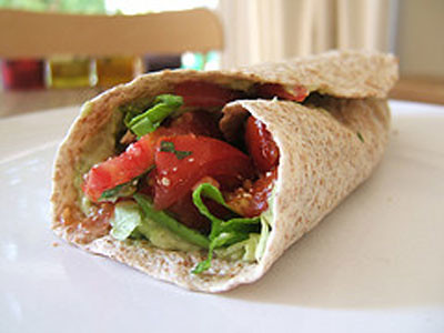 Spinach Tortilla Wrap