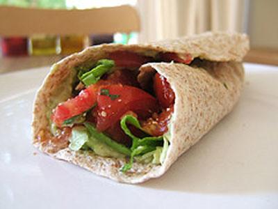 Spinach Tortilla Wrap