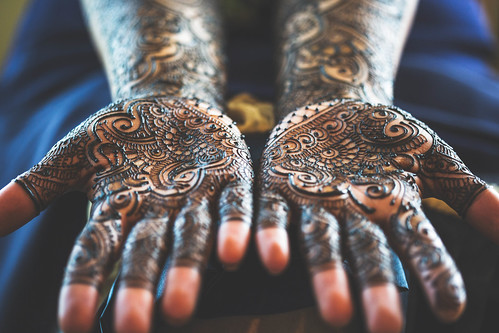 Mehndi Hands by MightyBoyBrian
