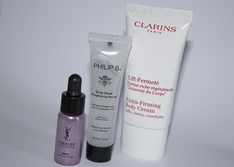 Clarins, Philip B snd YSL