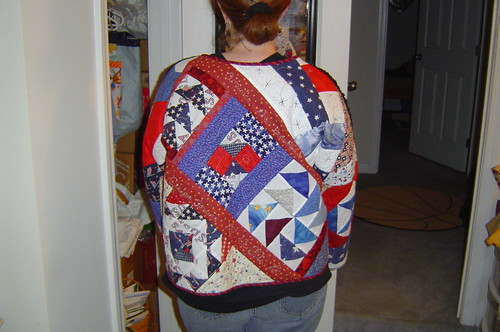 Patriotic Improv Jacket by basketcasejoy