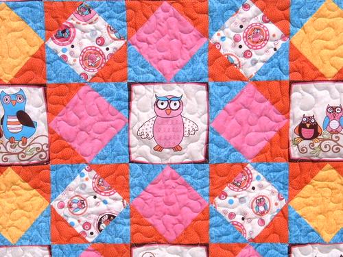 life's a hoot quilt 004