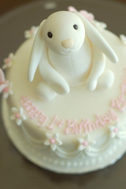 Rabbit Safe Birthday Cake