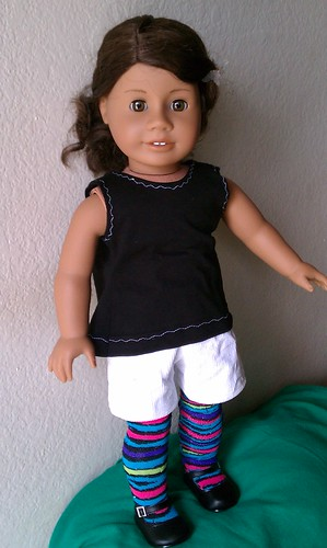 Alanna in Snazzy Tights by Among the Dolls