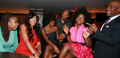 Abiola Abrams & Award-winning Bloggers, Black Enterprise Best Black Bloggers