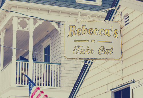 rebecca's take out block island