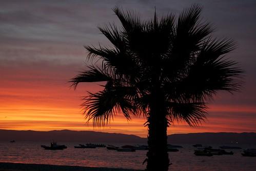 sunset orange peru catchycolors paracas