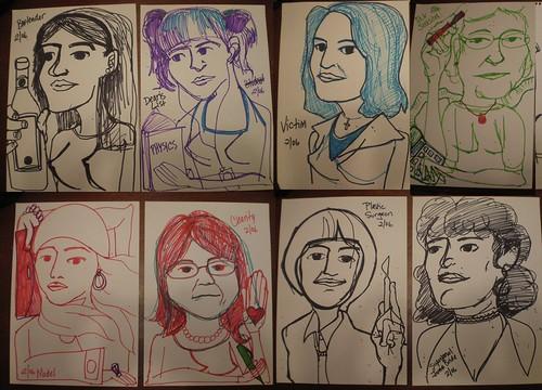 Sketchbook ladies 2006