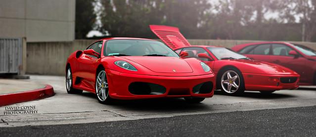 Ferrari F430 and F355