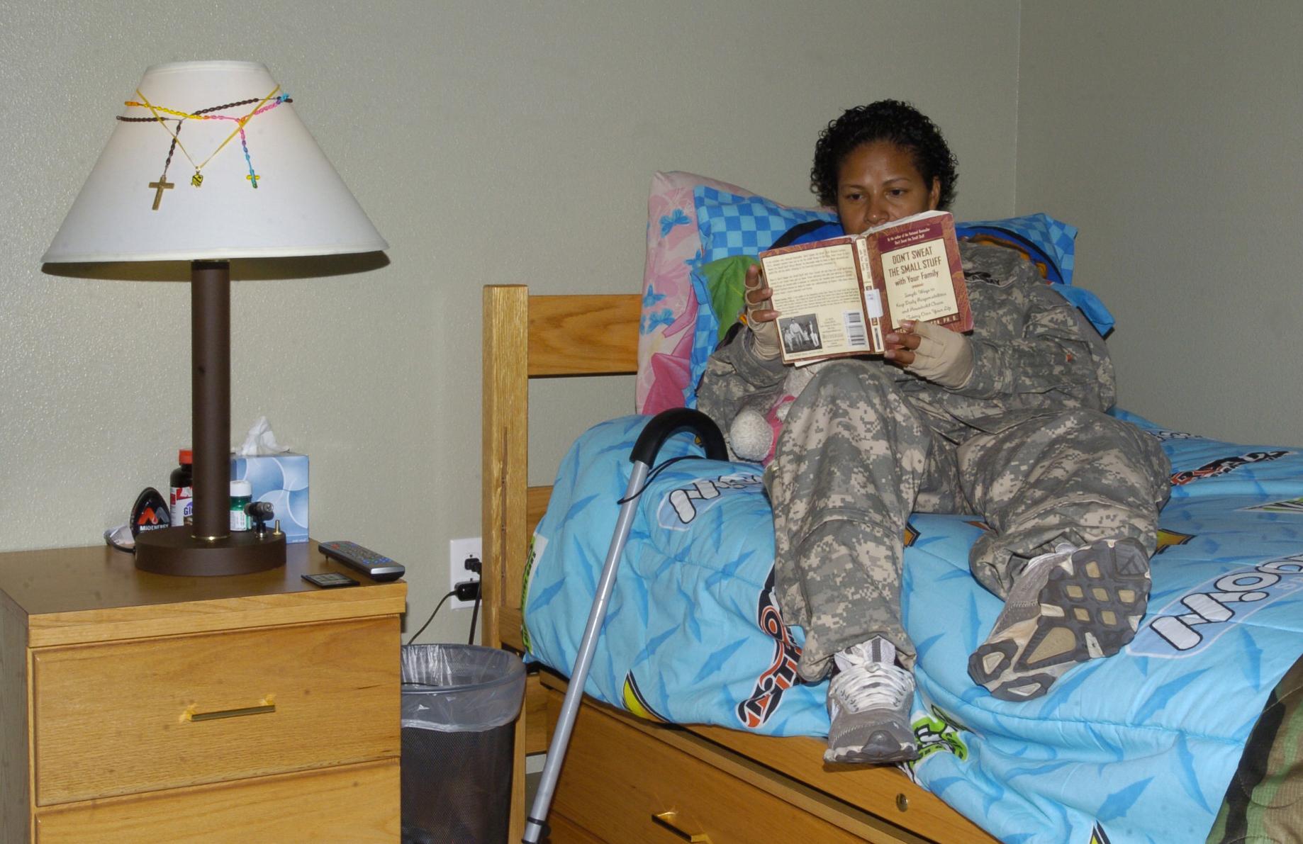 Fort Hood Warrior Transition Brigade Campus Barracks Room