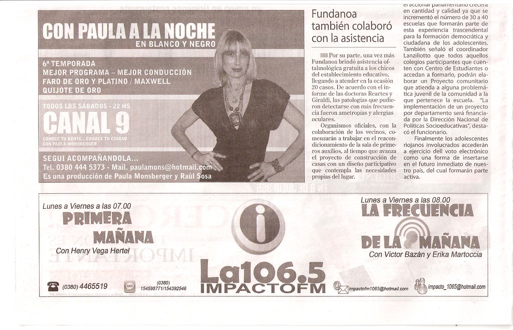 Diario Nueva Rioja - Fundación Barceló en La Ramadita (2) - 26.05.2012