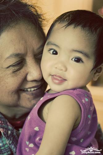 Loewyn & grandma!