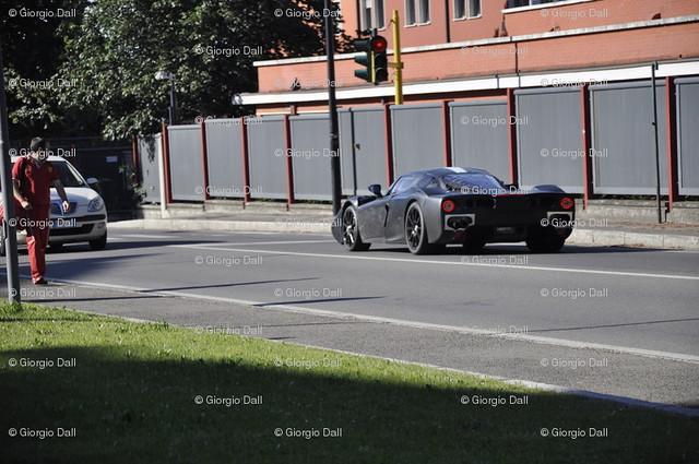 Ferrari F70 špijunke