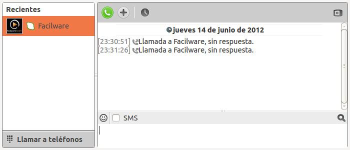 Conversación Skype 4