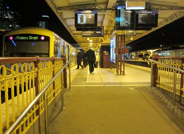 Flinders Street station ramp