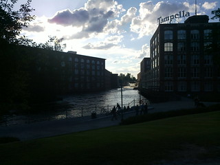 Summer evening in Tampere