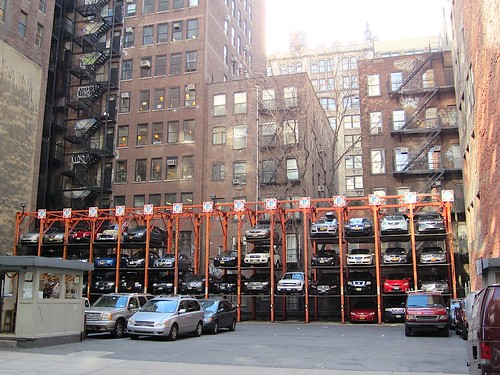 Car parking New York style