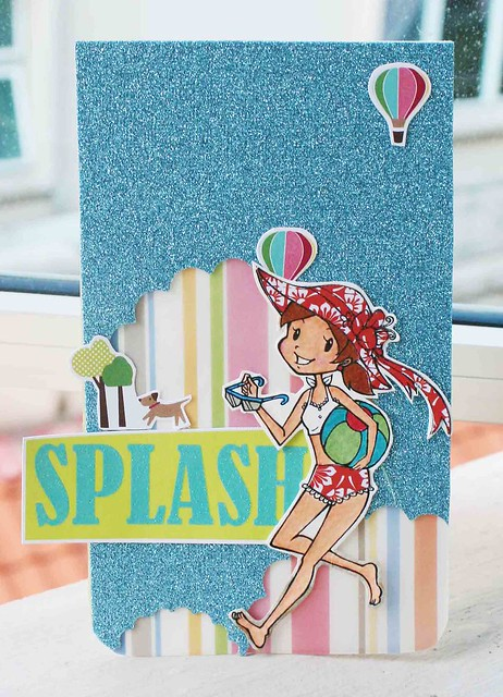 Splash card
