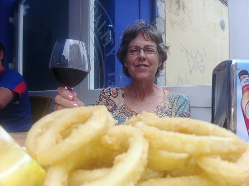 Rabas and Wine