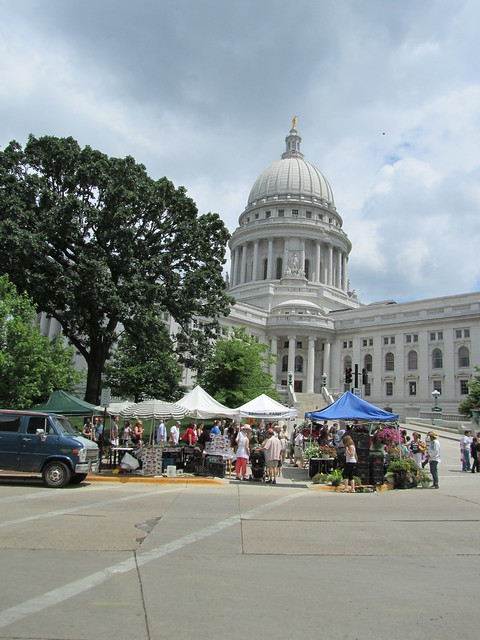 a scene from Madison, WI
