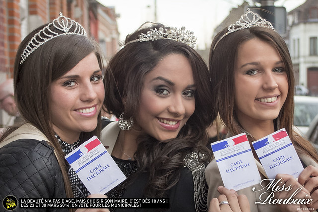 Miss Roubaix contre l'abstention