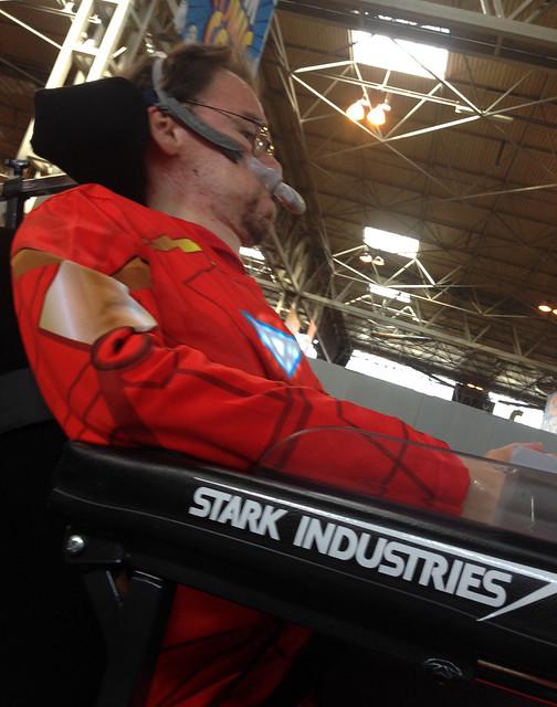 Daniel Stark at MCM Birmingham Comic Con