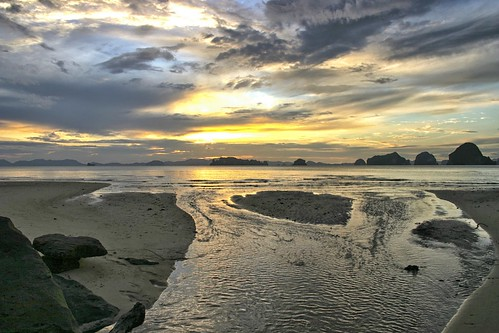 sunset asia thailandia aonang