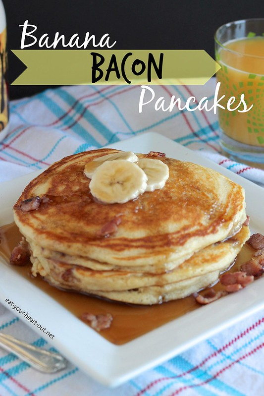 Banana Bacon Pancakes