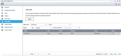 Team Folder ทำงานกันเป็นทีมได้ในโฟลเดอร์นี้