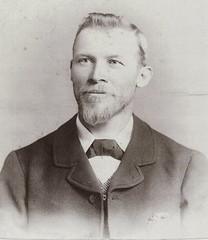 Alexander Jefferies, first Station Master at Willunga, c 1900